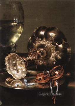 Still life Painting - PieDet still lifes Willem Claeszoon Heda